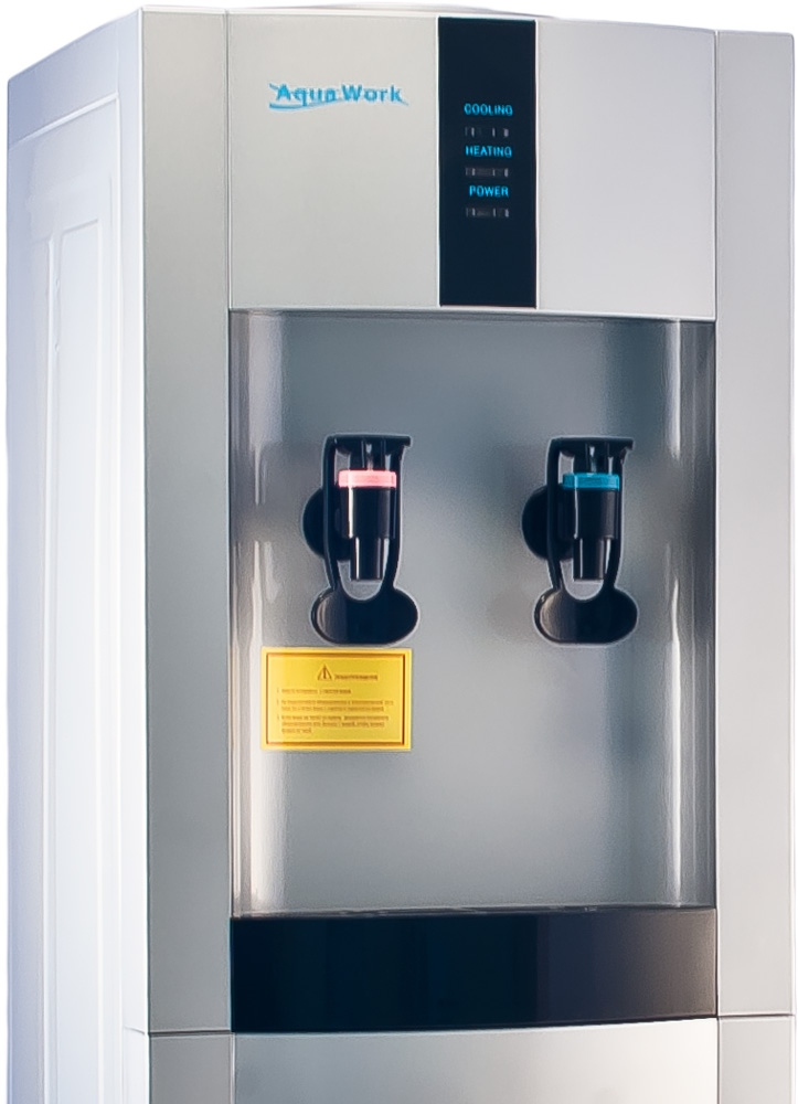 Кулер для воды Aqua Work 16-L/EN серебро - 4