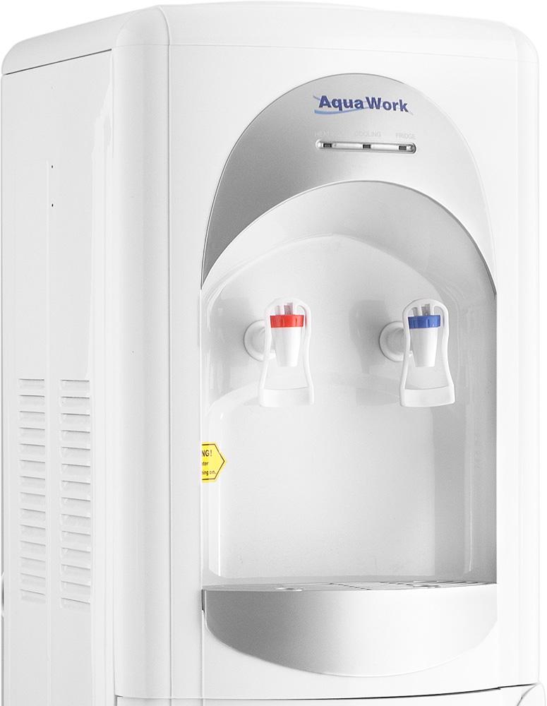 Кулер для воды Aqua Work 28-L-B/B серебристый - 5