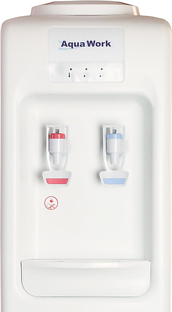 Кулер для воды Aqua Work D828-S белый - 4