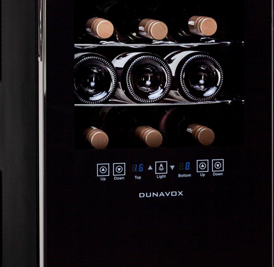 Винный шкаф Dunavox DX-24.68DSC - 6