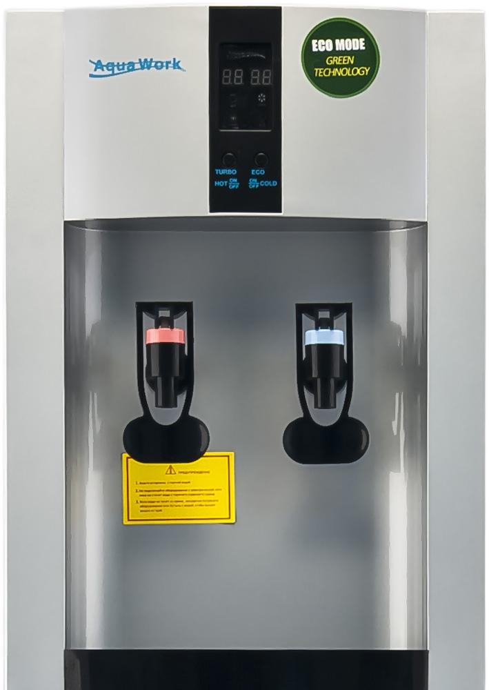 Кулер для воды Aqua Work 16-L/EN-ST серебро - 4