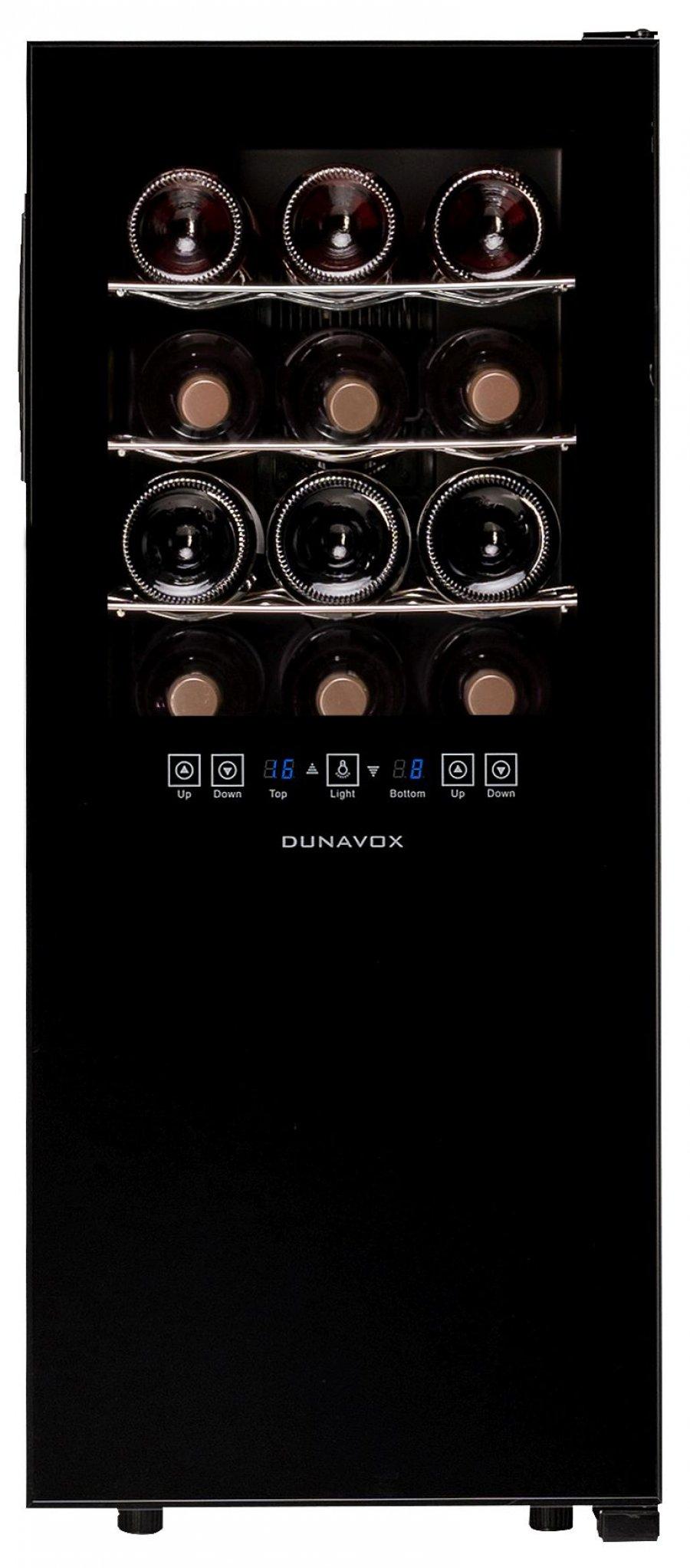 Винный шкаф Dunavox DX-24.68DSC - 2