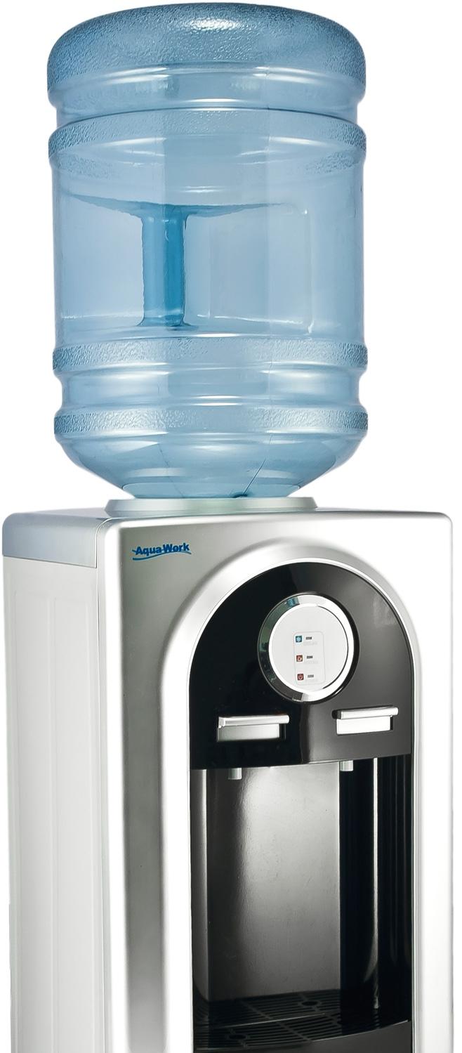 Кулер для воды Aqua Work 37-LD черный - 6