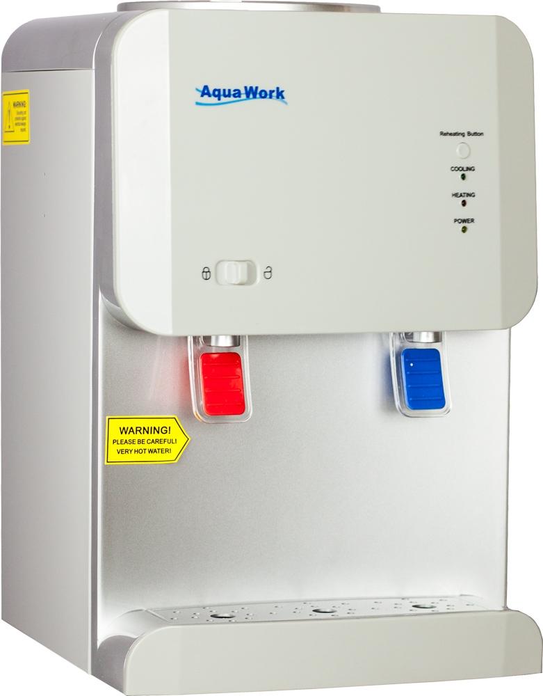 Кулер для воды Aqua Work 105-TD белый - 1