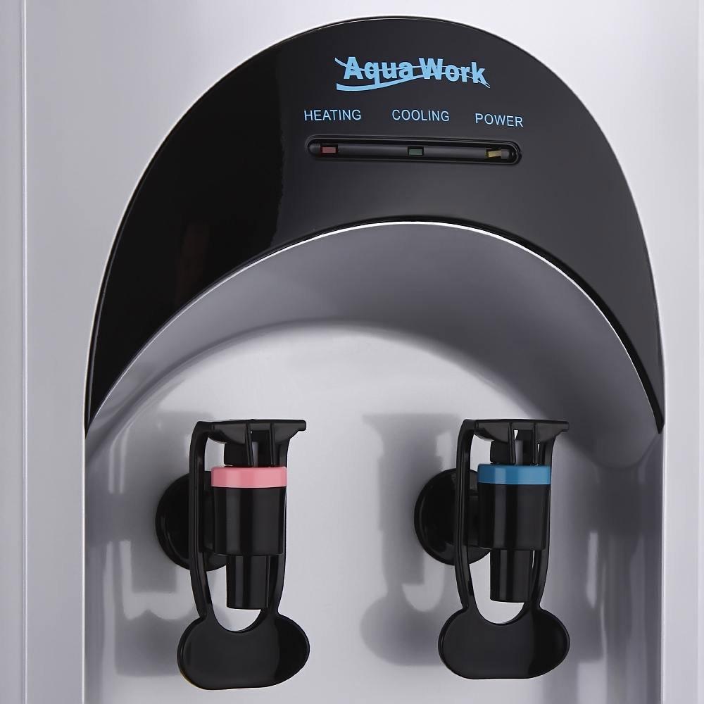 Кулер для воды Aqua Work 16-LD/HLN серебро - 3