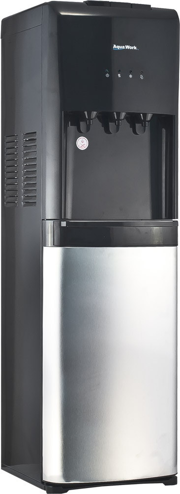 Кулер для воды Aqua Work 1245-S серебристо/черный - 4