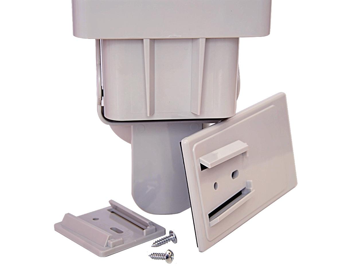 Стаканодержатель CRM-B (909) полуавтомат, магнитный, 50 стаканов, серый (артикул 3567) - 4