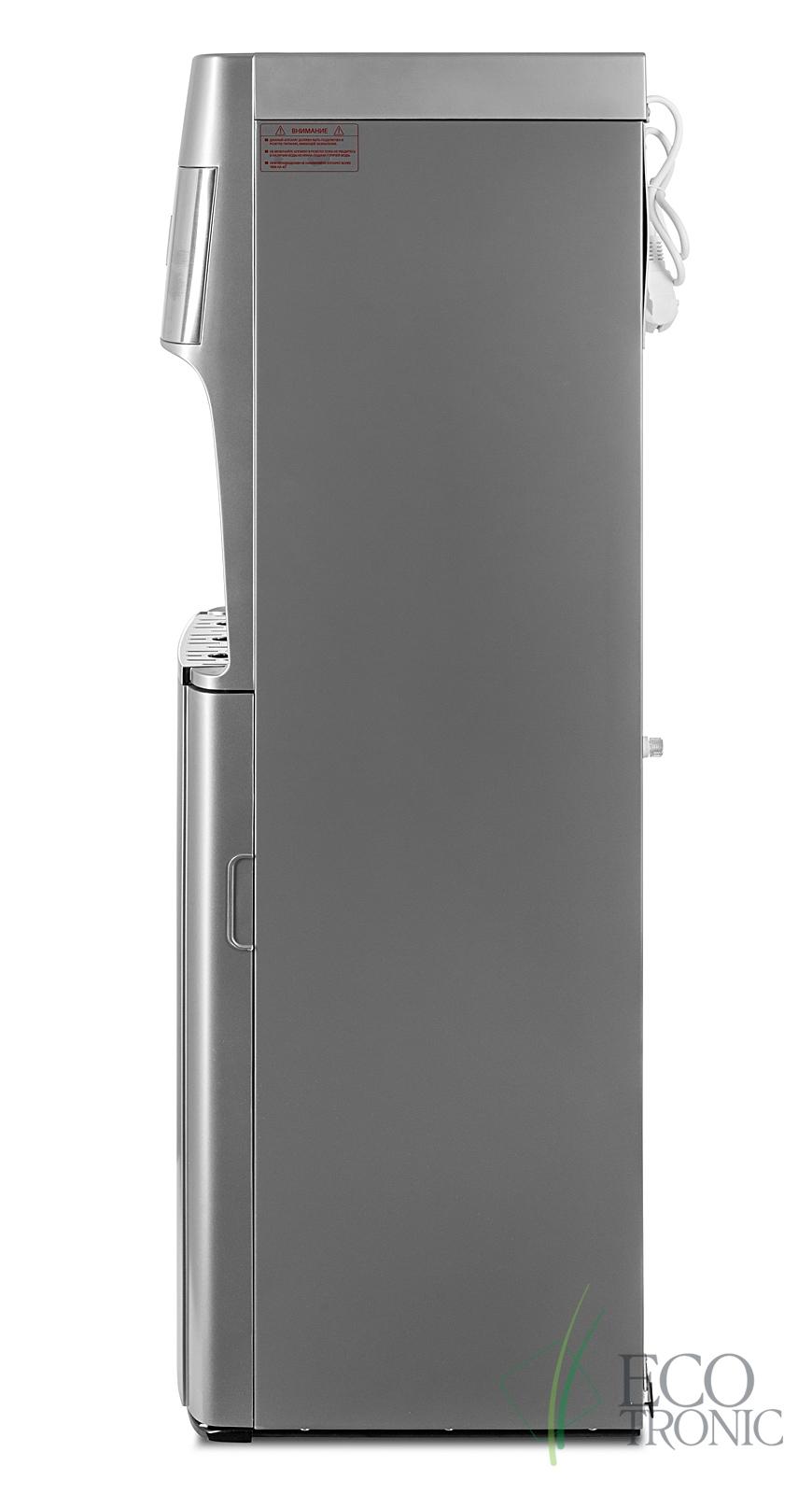 Кулер с нижней загрузкой бутыли Ecotronic M30-LXE silver+SS - 9