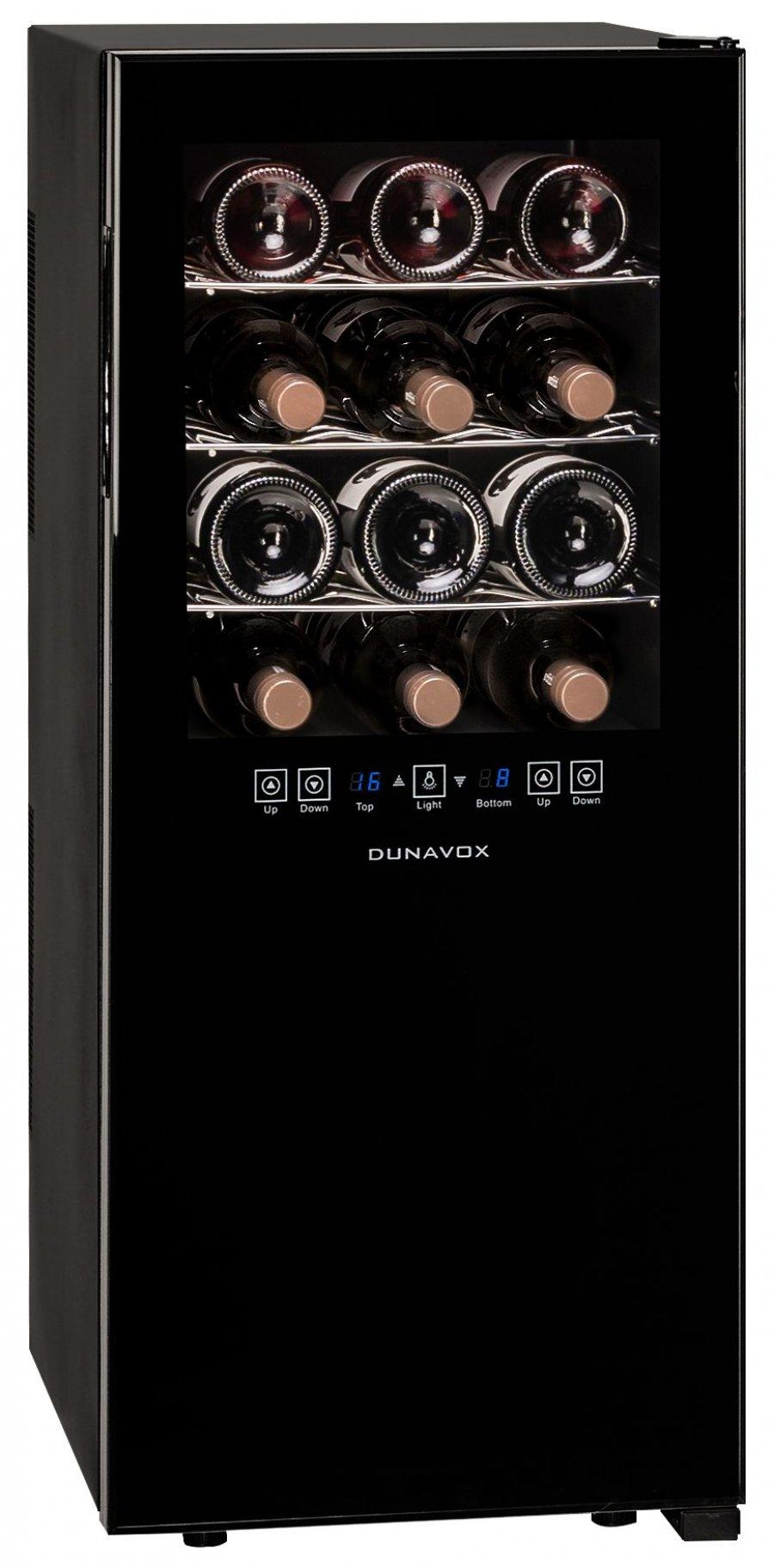 Винный шкаф Dunavox DX-24.68DSC - 4