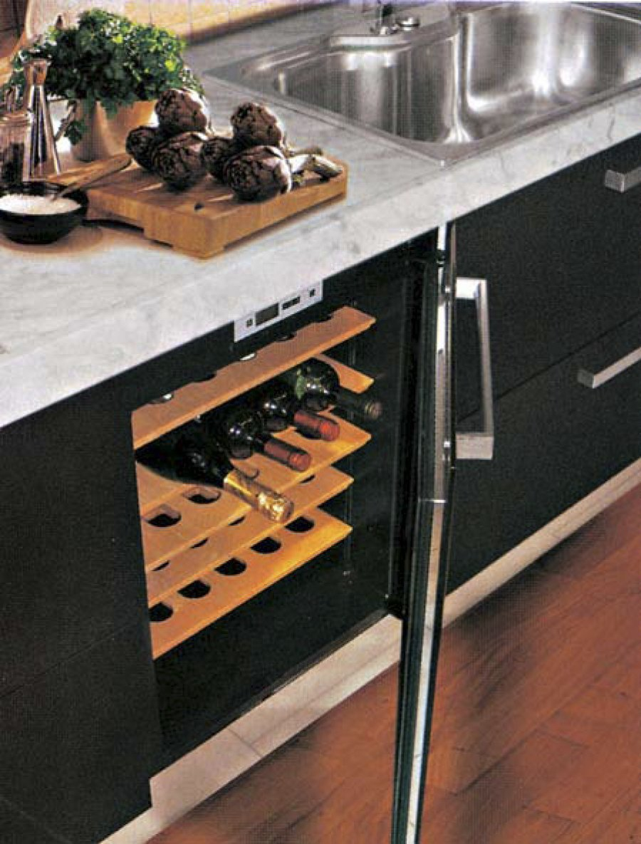 Винный шкаф Indel B BUILT-IN 36 HOME PLUS(две температурные зоны) - 4