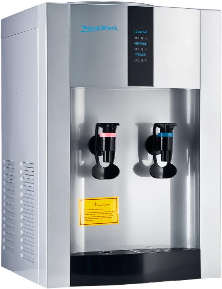 Кулер для воды Aqua Work 16-TD/EN серебро - 1