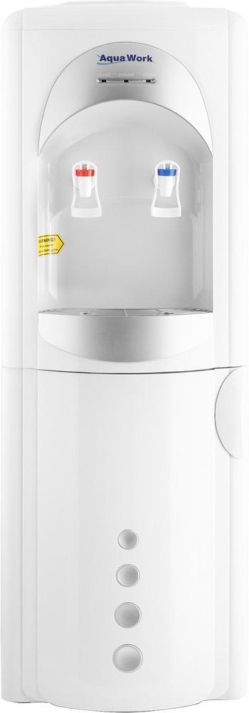 Кулер для воды Aqua Work 28-L-B/B серебристый - 3