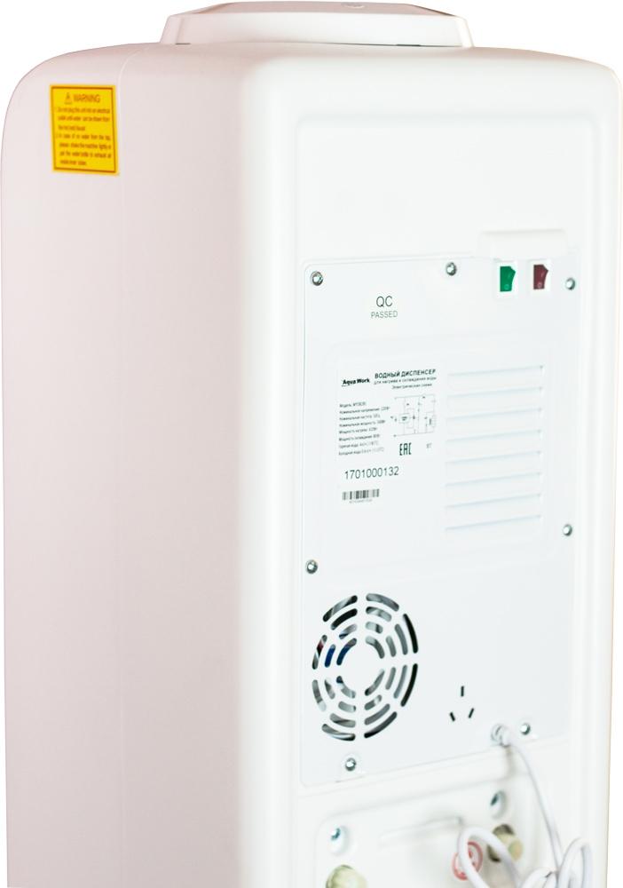 Кулер для воды Aqua Work D828-S белый - 6