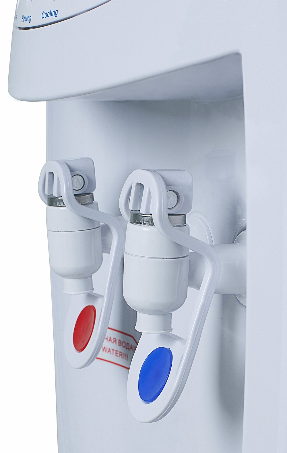Кулер для воды с холодильником HotFrost V208B - 7