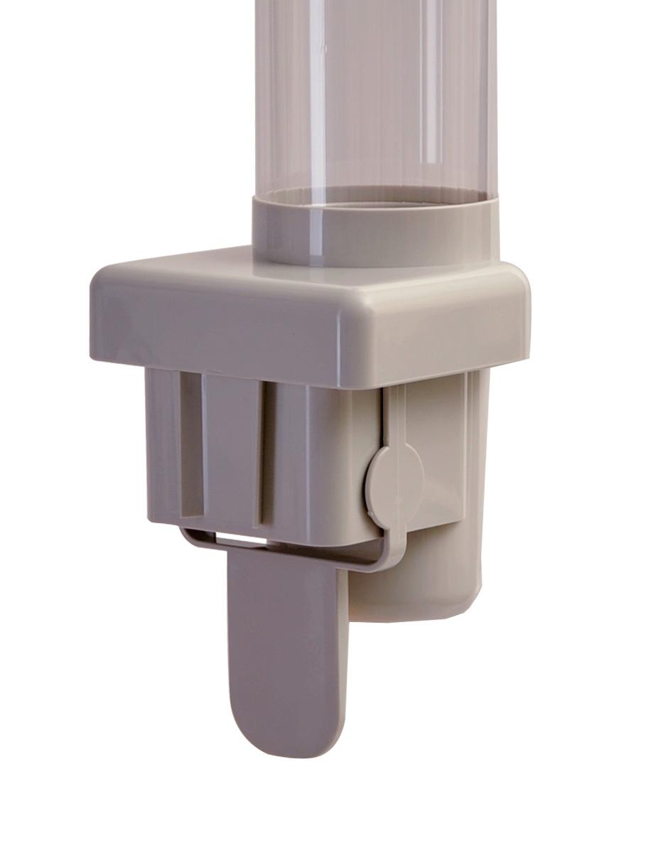 Стаканодержатель CRM-B (909) полуавтомат, магнитный, 50 стаканов, серый (артикул 3567) - 3