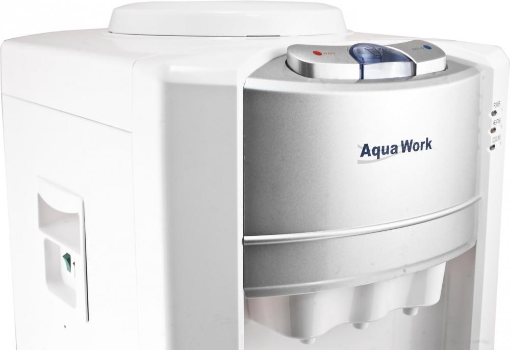 Кулер для воды Aqua Work 712-S-W белый - 3