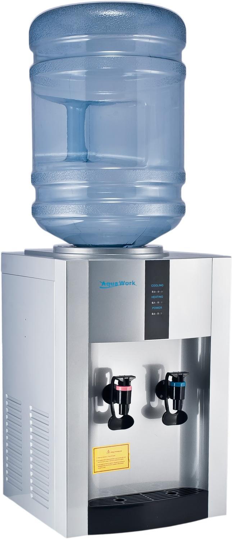 Кулер для воды Aqua Work 16-TD/EN серебро - 3