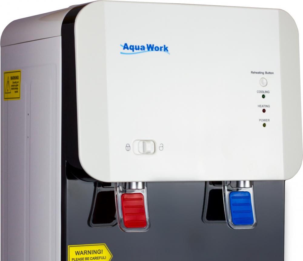 Кулер для воды Aqua Work 105-LD белый - 6