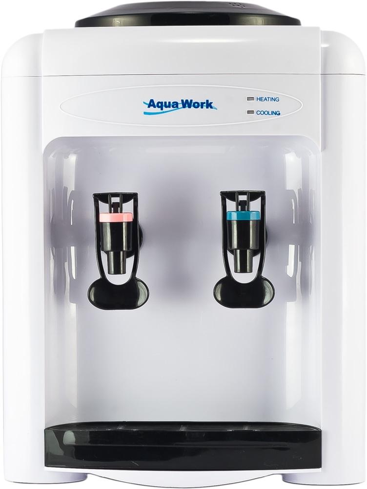 Кулер для воды Aqua Work 0.7-TD белый - 2