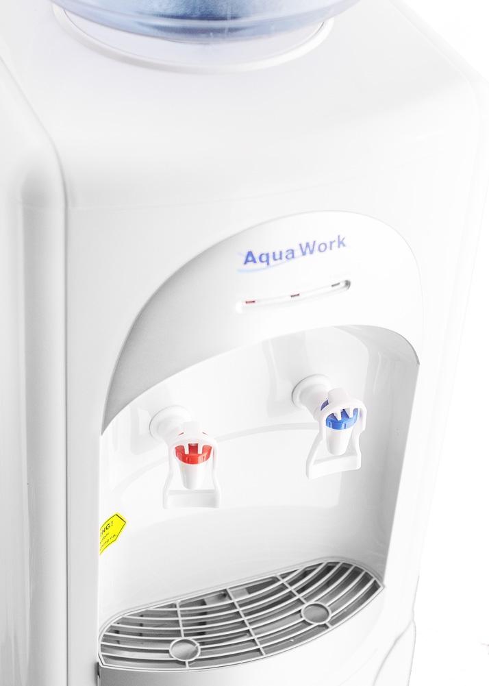 Кулер для воды Aqua Work 28-L-B/B серебристый - 8