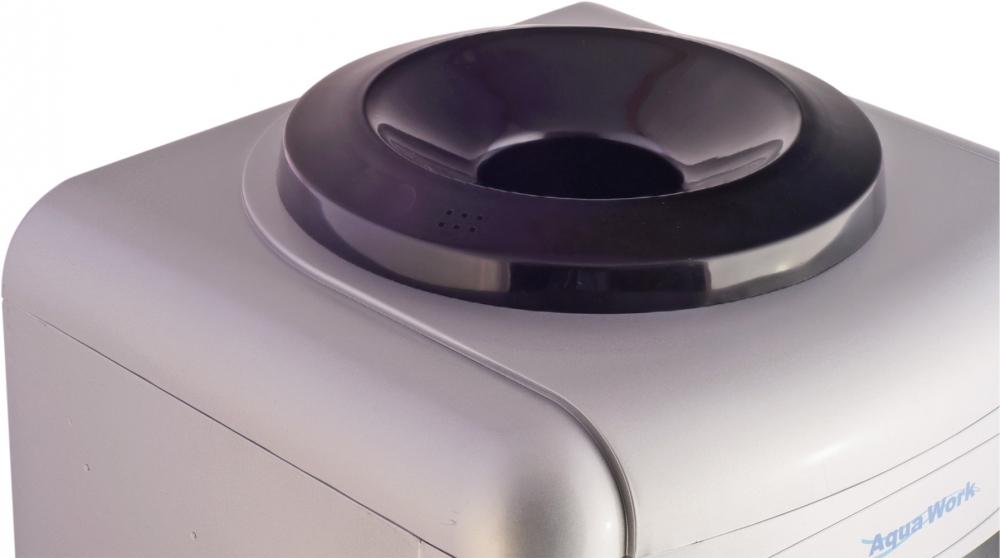 Кулер для воды Aqua Work 0.7-TD серебро - 6