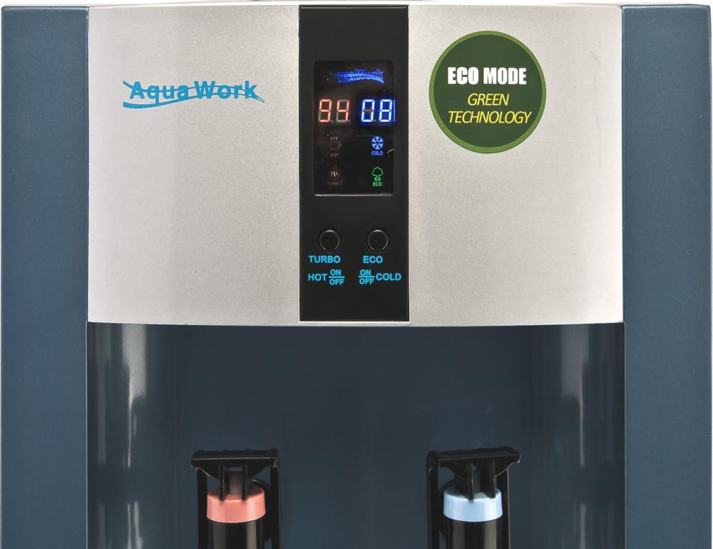 Кулер для воды Aqua Work 16-T/EN-ST синий - 2