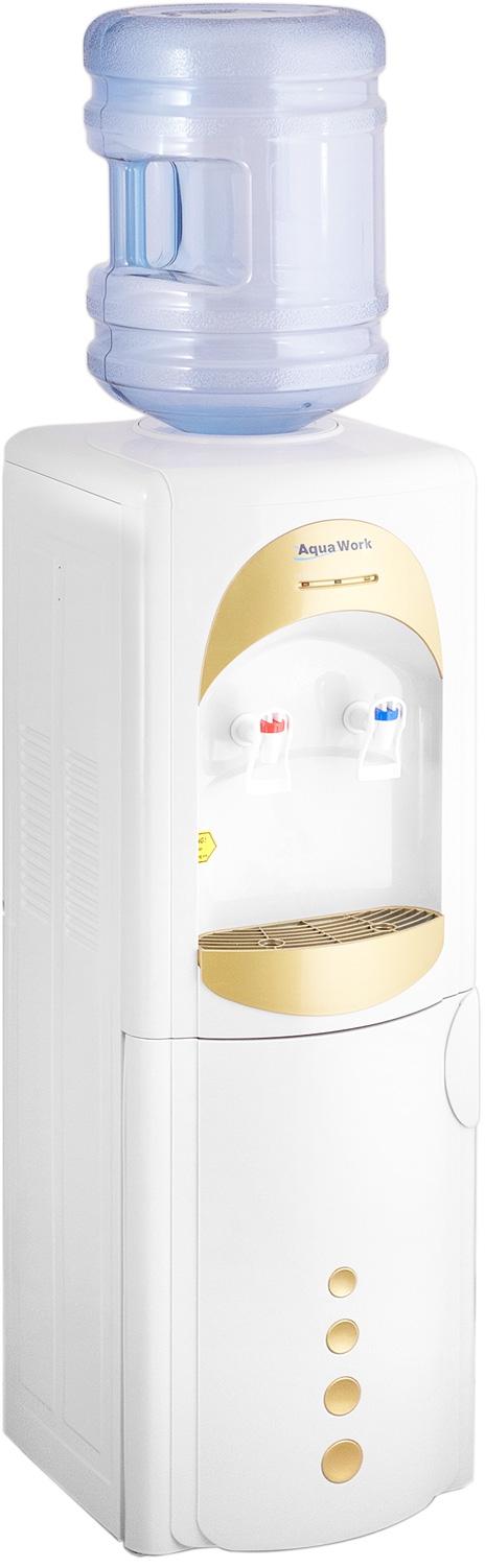Кулер для воды Aqua Work 28-L-B/B золотистый - 8