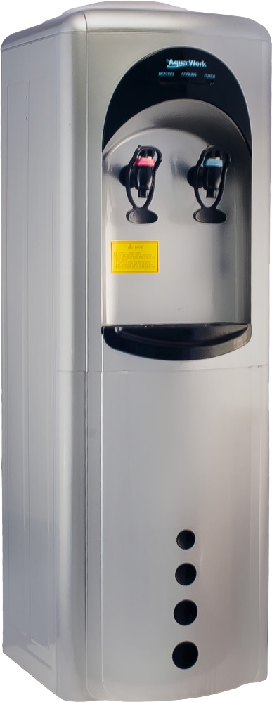 Кулер для воды Aqua Work 16-LD/HLN серебро - 1