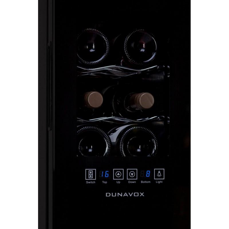 Винный шкаф Dunavox DAT-12.33DC - 4
