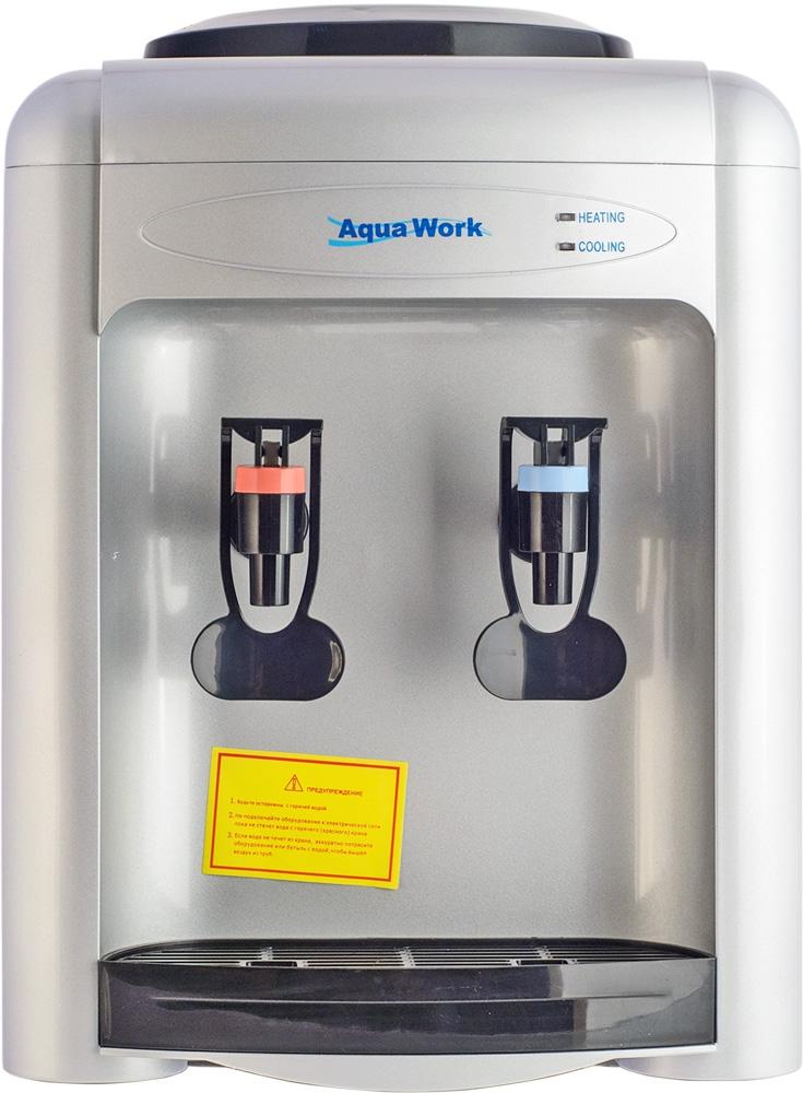 Кулер для воды Aqua Work 0.7-TD серебро - 2