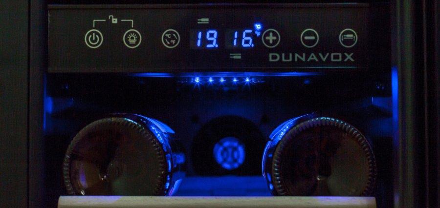 Винный шкаф Dunavox DX-17.58SDSK/DP - 12