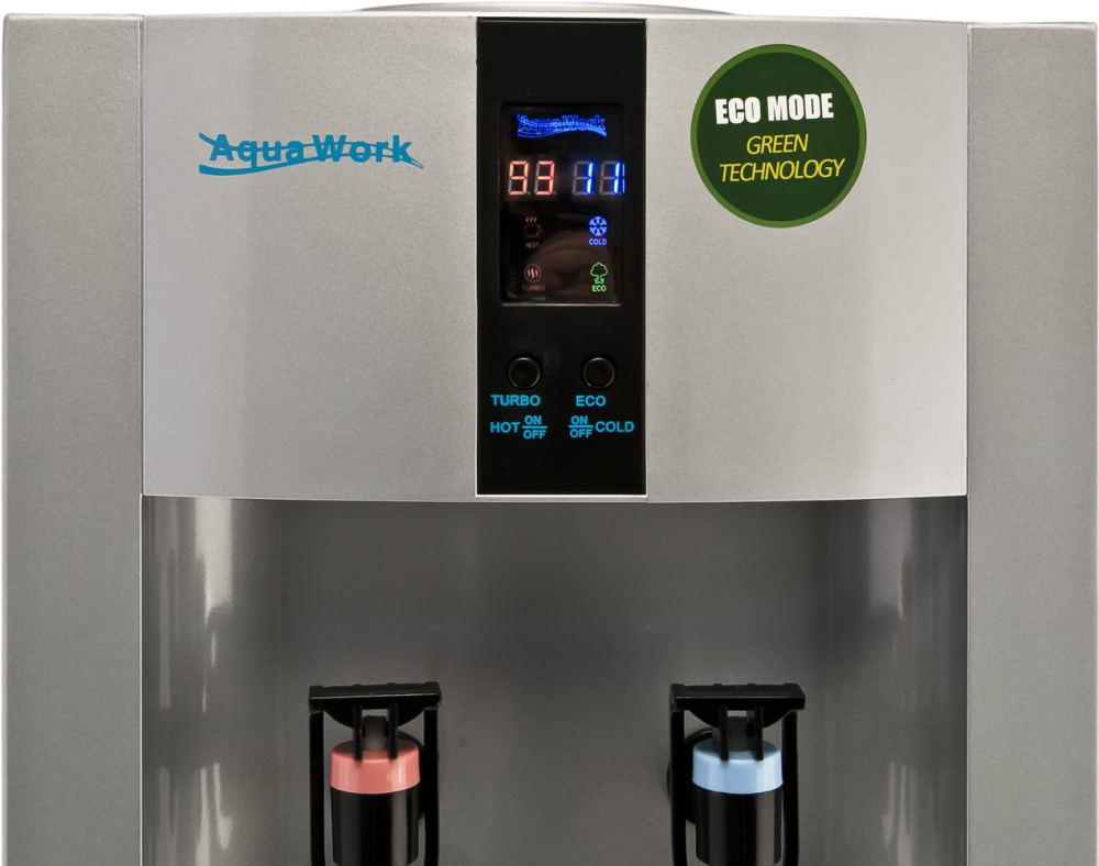 Кулер для воды Aqua Work 16-L/EN-ST серебро - 2