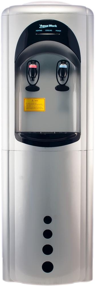 Кулер для воды Aqua Work 16-L/HLN серебро - 4