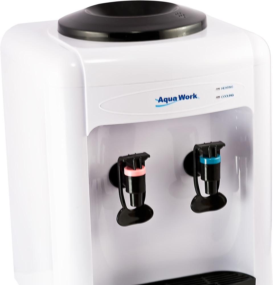 Кулер для воды Aqua Work 0.7-TD белый - 5