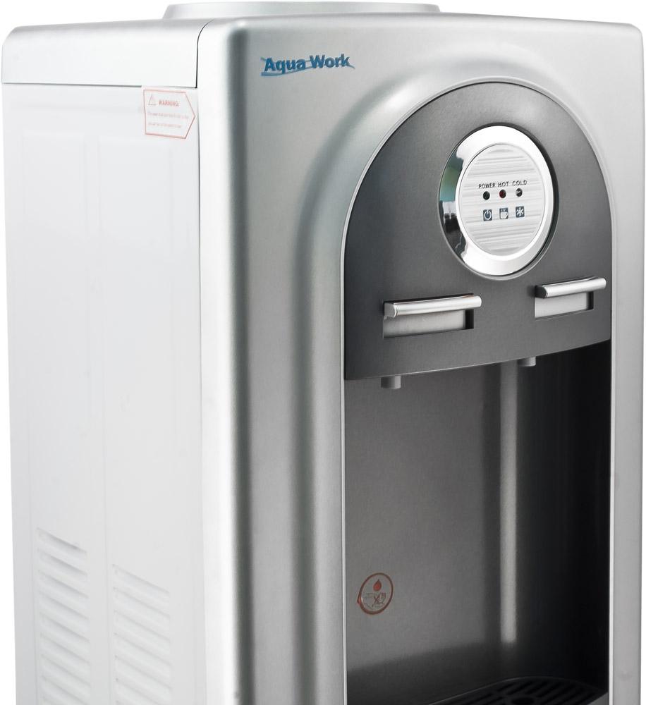 Кулер для воды Aqua Work 37-LD серый - 4