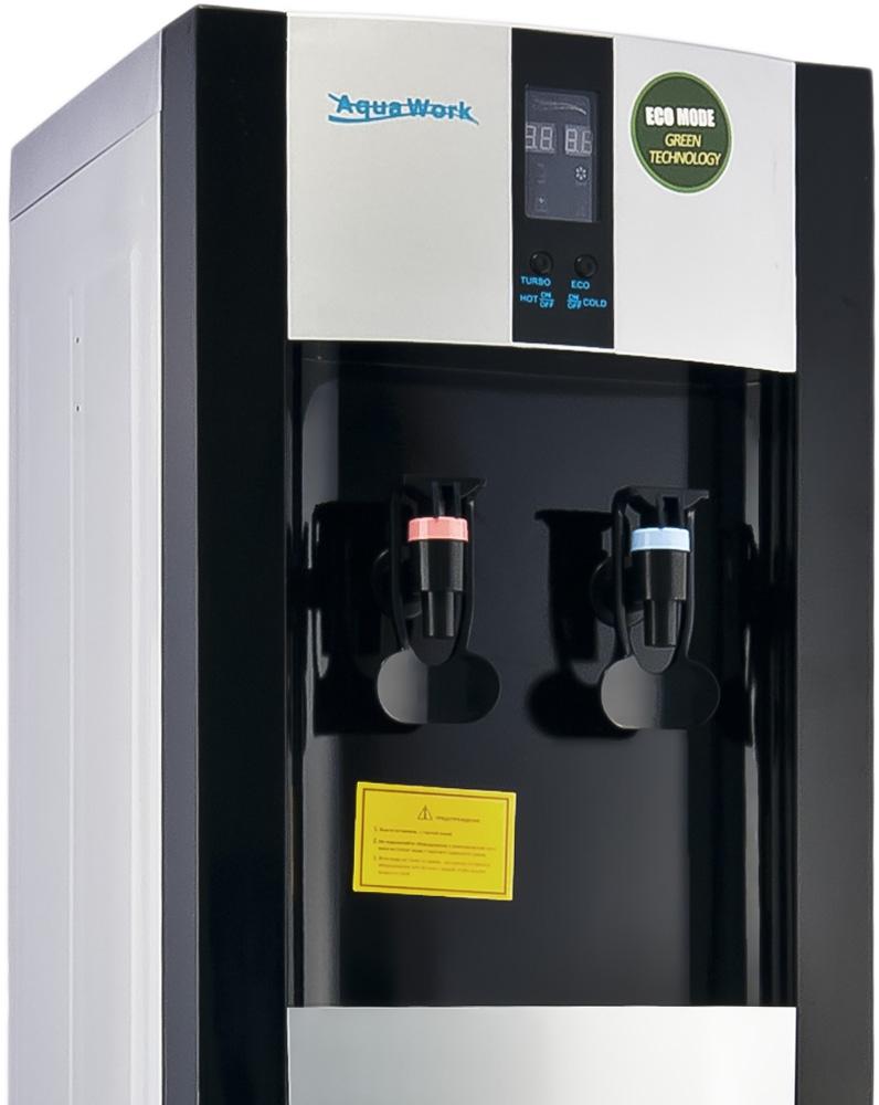 Кулер для воды Aqua Work 16-L/EN-ST черный - 2