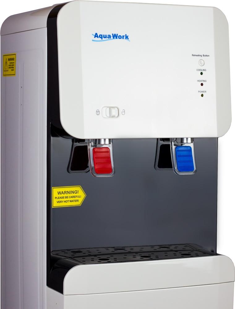 Кулер для воды Aqua Work 105-LD белый - 9