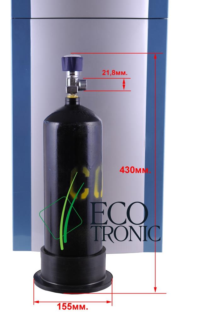 Баллон с газом CO2 2л. (углекислотный) - 3
