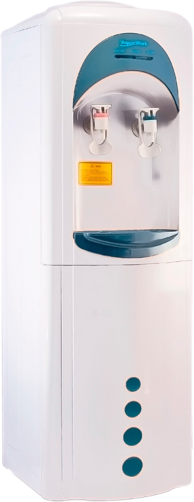 Кулер для воды Aqua Work 16-L/HLN белый - 1