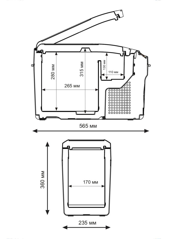 Автохолодильник компрессорный Indel B TB15 - 7