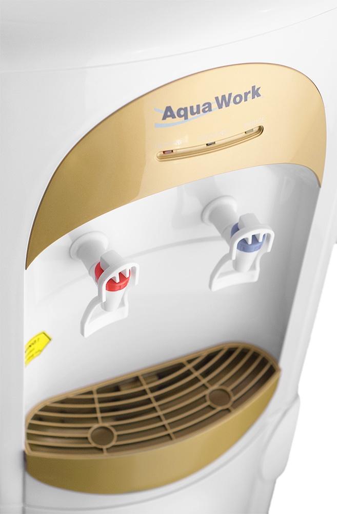 Кулер для воды Aqua Work 28-L-B/B золотистый - 5