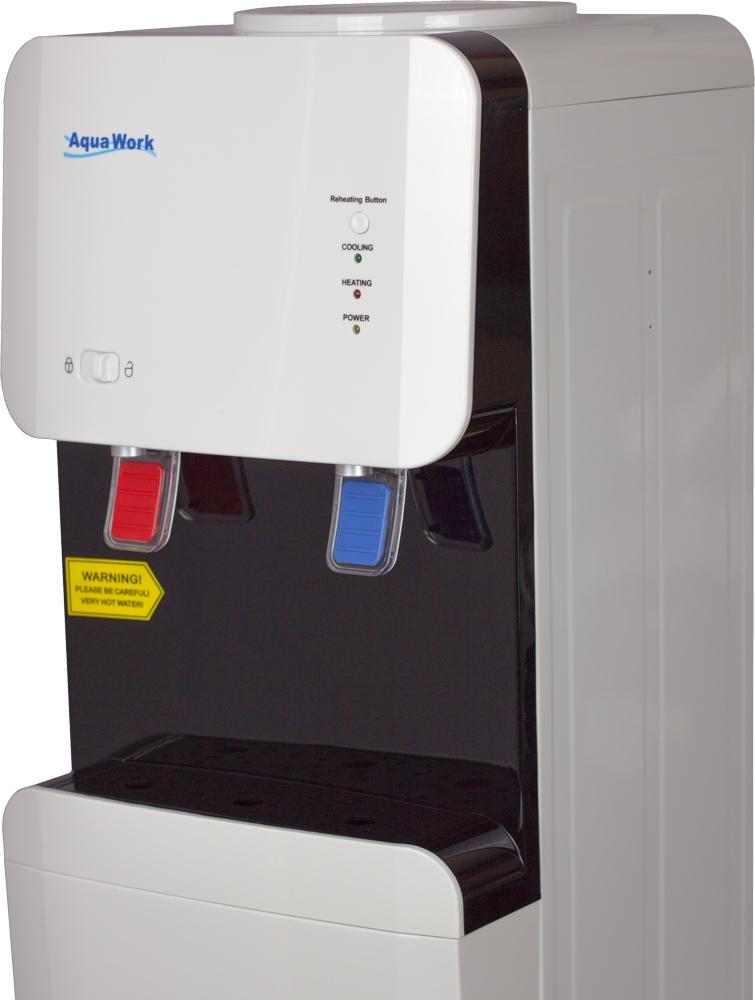 Кулер для воды Aqua Work 105-LD белый - 5
