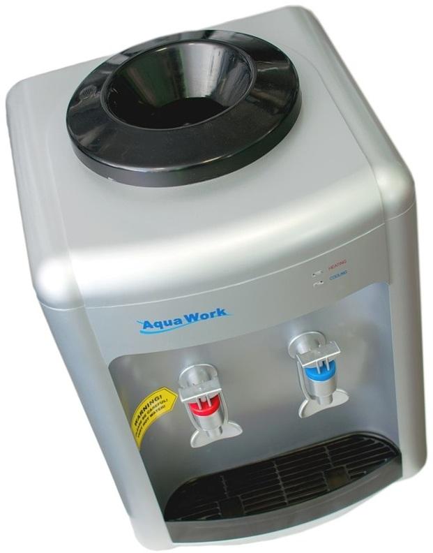 Кулер для воды Aqua Work 36-TDN серебро - 2