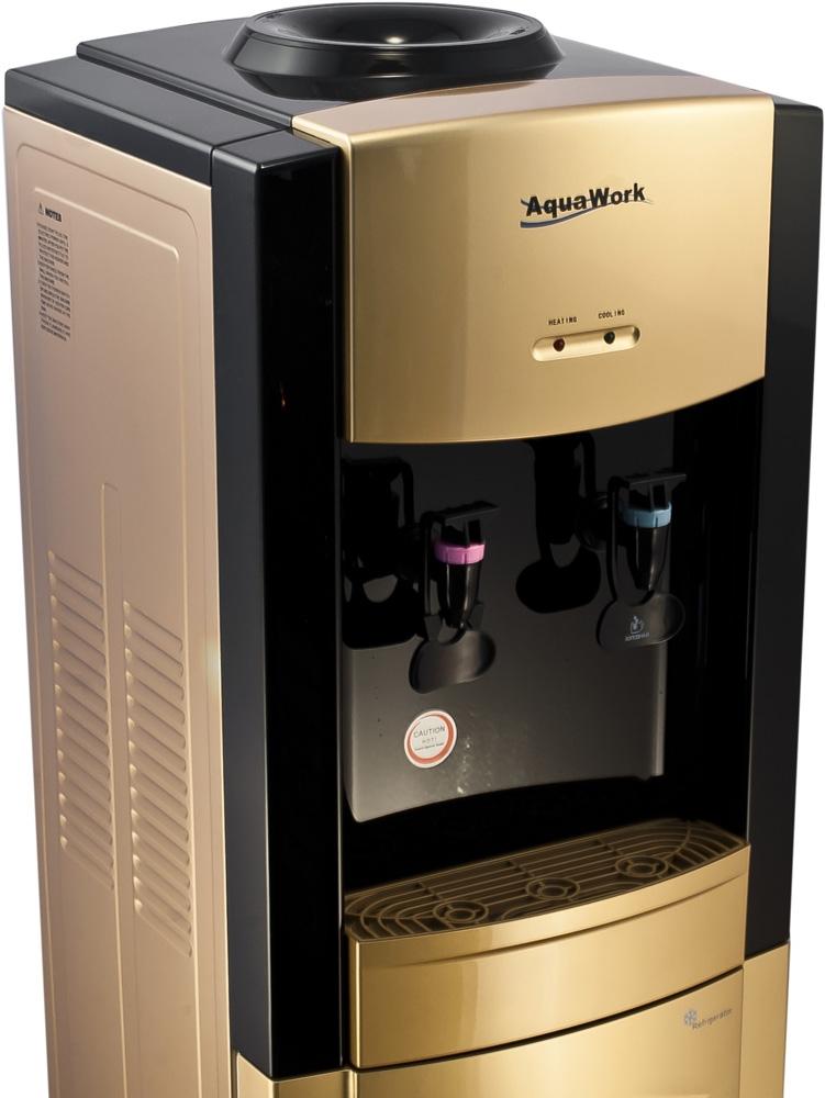 Кулер для воды Aqua Work 21 золотисто/черный - 2