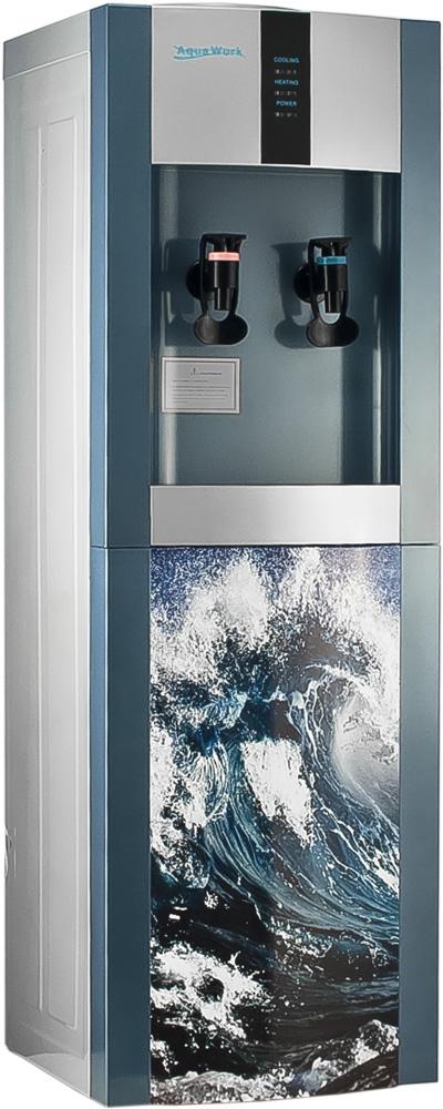 Кулер для воды Aqua Work 16-L/EN Волна дизайнерский - 1