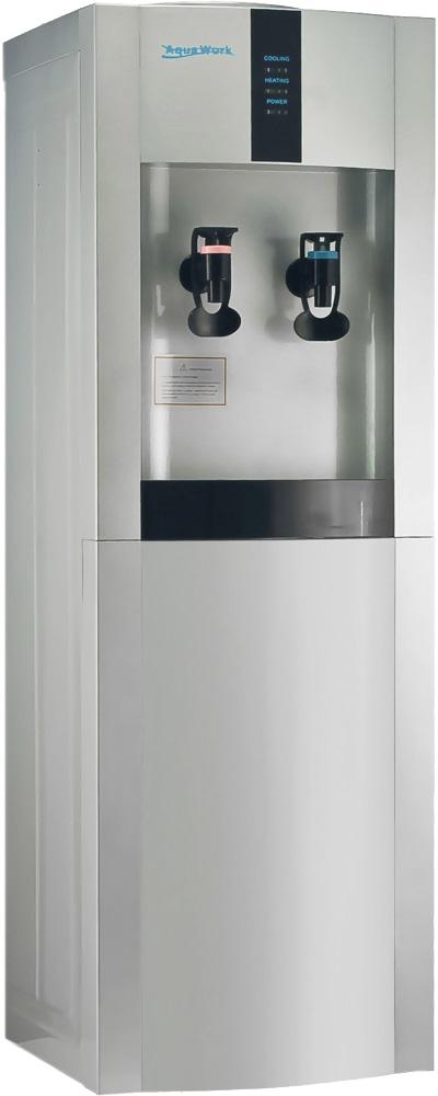 Кулер для воды Aqua Work 16-L/EN серебро - 1