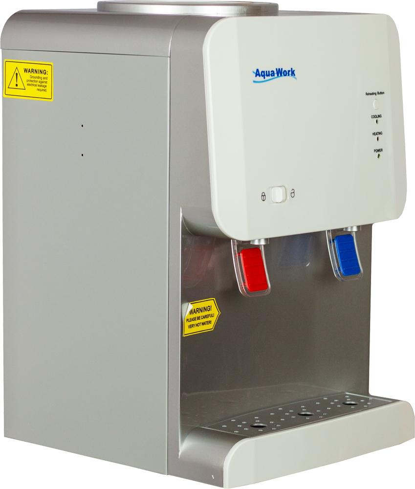 Кулер для воды Aqua Work 105-TD белый - 4