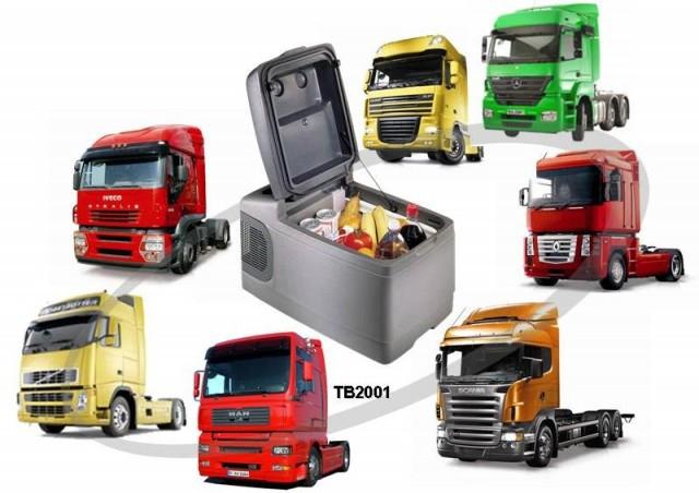 Автохолодильник компрессорный Indel B TB2001 - 8