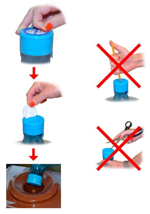 Вода Эльбрусинка 19 литров в одноразовой таре - 1