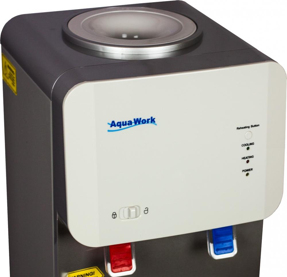 Кулер для воды Aqua Work 105-TD белый - 6
